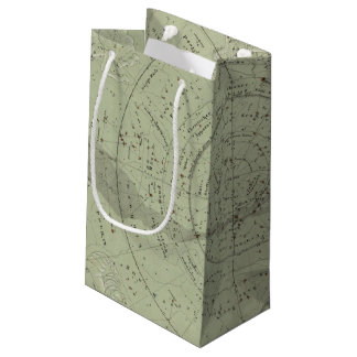 Center of the Southern Sky map Small Gift Bag