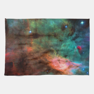 Center of The Swan Nebula Tea Towel