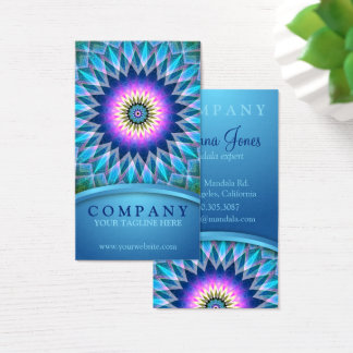 Center Point Mandala Business Card