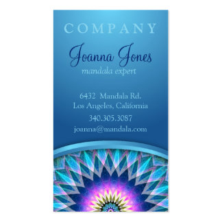 Center Point Mandala Business Cards