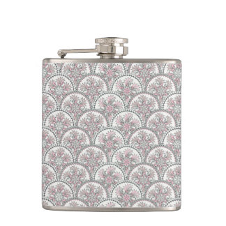 Centle Vintage Pattern Hip Flask