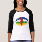 Centrafrique Gnarly Flag T-Shirt