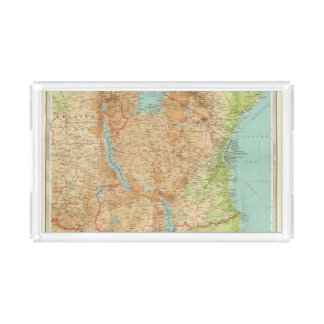 Central Africa eastern section Acrylic Tray