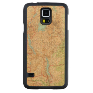 Central Africa eastern section Carved Maple Galaxy S5 Case