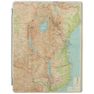 Central Africa eastern section iPad Cover