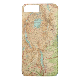 Central Africa eastern section iPhone 8 Plus/7 Plus Case