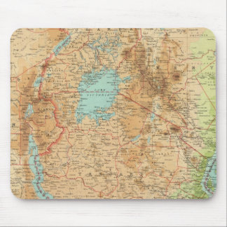 Central Africa eastern section Mouse Mat