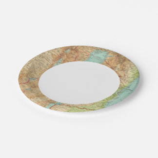 Central Africa eastern section Paper Plate