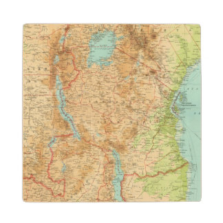 Central Africa eastern section Wood Coaster