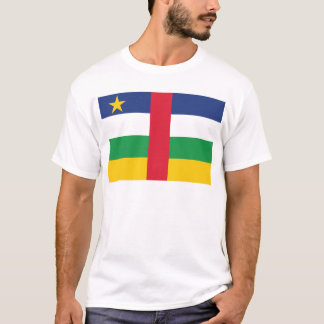 Central Africa Republic Flag T-Shirt