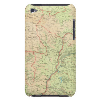 Central Africa western section Case-Mate iPod Touch Case