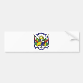 Central African Republic CF Bumper Sticker