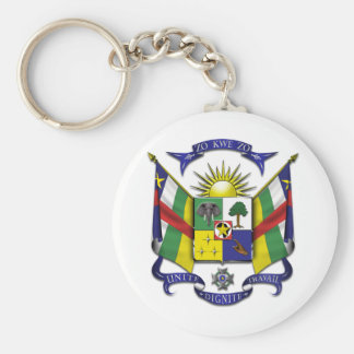 Central African Republic CF Key Ring