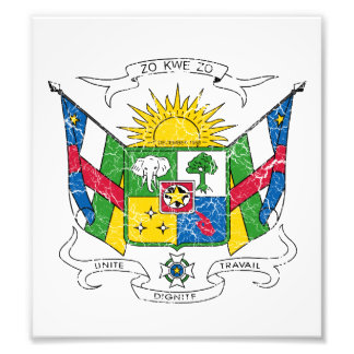 Central African Republic Coat Of Arms Photo