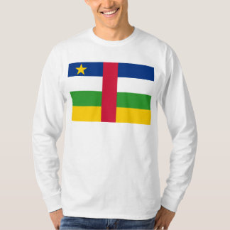 Central African Republic Flag CF T-Shirt