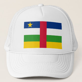 Central African Republic Flag CF Trucker Hat