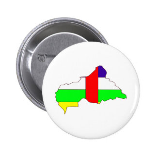 Central African Republic Flag Map full size Pins