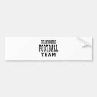 Central African Republic Football Team Bumper Sticker