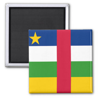 Central African Republic Square Magnet