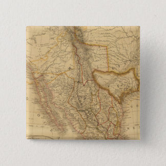 Central America 15 Cm Square Badge