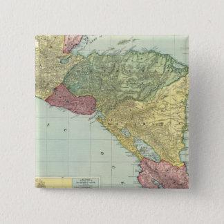 Central America 2 15 Cm Square Badge