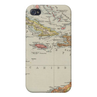 Central America 2 iPhone 4 Case
