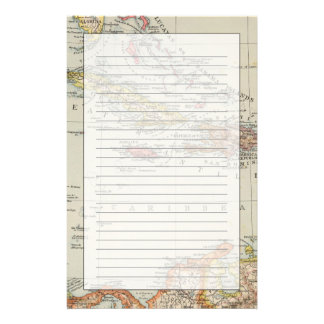 Central America 2 Personalized Stationery