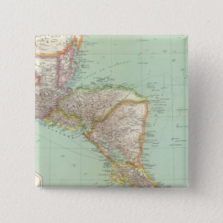 Central America 4 15 Cm Square Badge