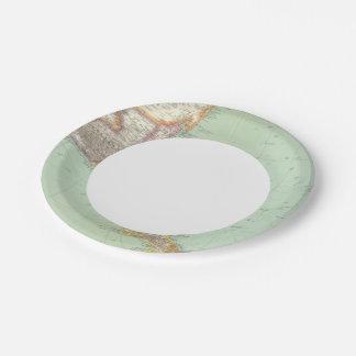 Central America 4 Paper Plate