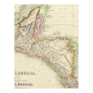 Central America 4 Postcard