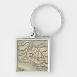 Central America 7 Key Ring