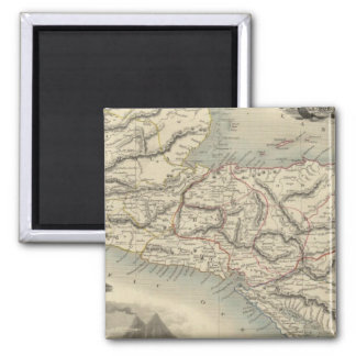 Central America 7 Square Magnet
