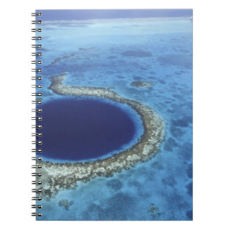 CENTRAL AMERICA, Belize, Large coral reefs off Notebook