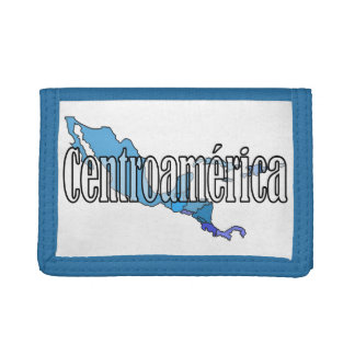 Central America Tri-fold Wallet