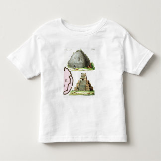 Central American Antiquities, detail of two pyrami Toddler T-Shirt