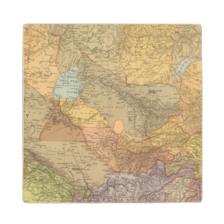 Central Asia 2 Wood Coaster