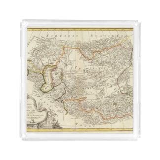 Central Asia Acrylic Tray
