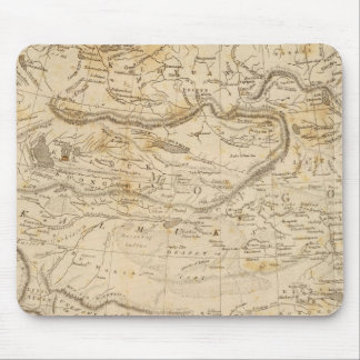 Central Asia Map by Arrowsmith Mouse Mat