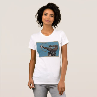 Central Asian Foot Archer American Apparel Tee