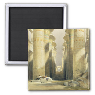 Central Avenue of the Great Hall of Columns, Karna Refrigerator Magnet