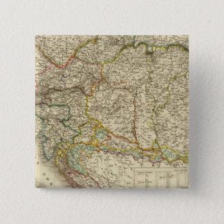 Central Balkan Peninsula Austria Hungary 15 Cm Square Badge