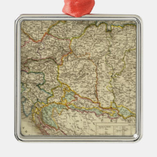 Central Balkan Peninsula Austria Hungary Christmas Ornament