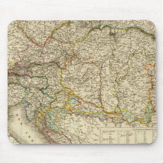Central Balkan Peninsula Austria Hungary Mouse Mat