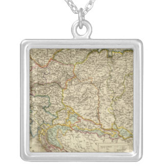 Central Balkan Peninsula Austria Hungary Silver Plated Necklace