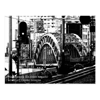 central bridge top world modern art 2016 postcard