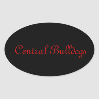 Central Bulldogs Stickers