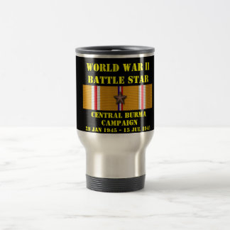 Central Burma Campaign Stainless Steel Travel Mug