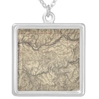 Central California Silver Plated Necklace