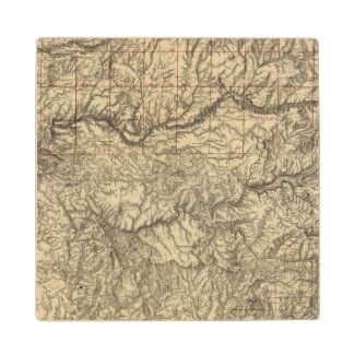 Central California Wood Coaster