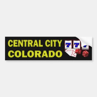 CENTRAL CITY COLORADO BUMPER STICKER